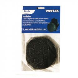 Winflex - BEAST DEFENDER 100mm filtre de protection insectes , pour extracteur d'air