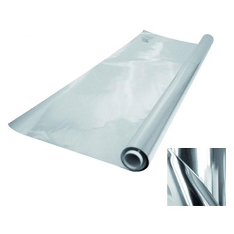 Mylar simple 50mµ - 1,20 x 30m (rouleau) , papier réflechissant lumière