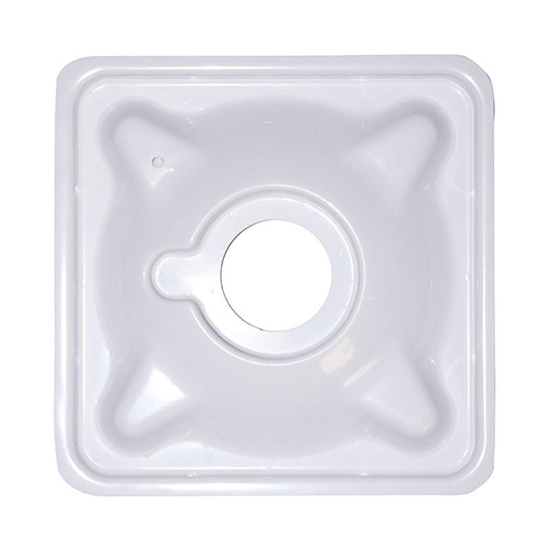 Platinium Plaque aéro pour pot carré noir 6L (18x18x23cm)