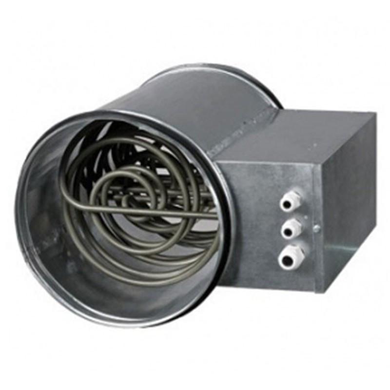 Chauffage introducteur d'air 125mm (0.6-1kW) 80-120m3/h pro