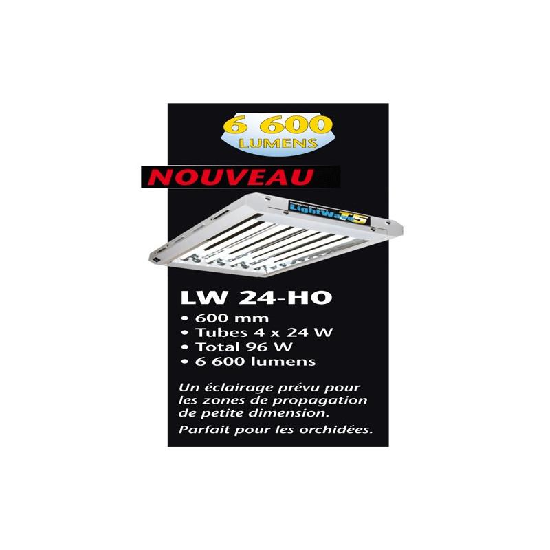LIGHTWAVE T5 96 W 2 /4 TUBES CROISSANCE