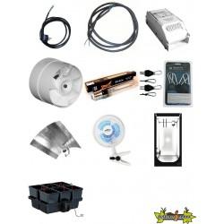 pack Blackbox Silver Chambre de Culture - Pack BBS V2 100 Hydro Eco - 100X100X200 cm