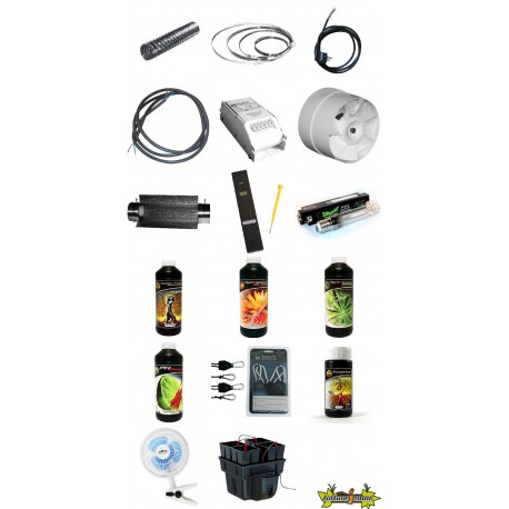PACK culture indoor hydroponique HYDRO PRO 1 250W