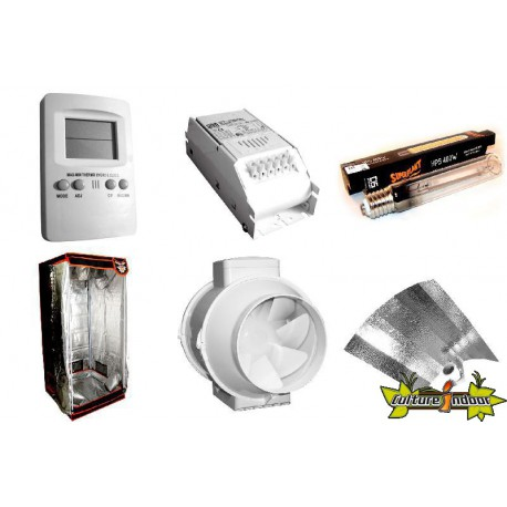 Superbox pack Chambre de Culture - Pack Superbox Mylar V2 80 - 80X80X180 cm
