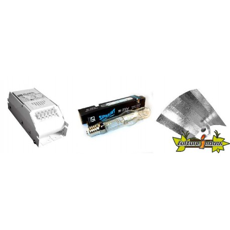 KIT Lampe MH ECLAIRAGE MAGNETIC 250w ETI 15