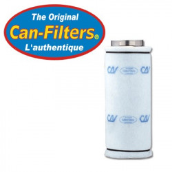 Filtre à charbon CAN FILTER 2600 125mm - Option flange non inclus (156 à 300m3/h)
