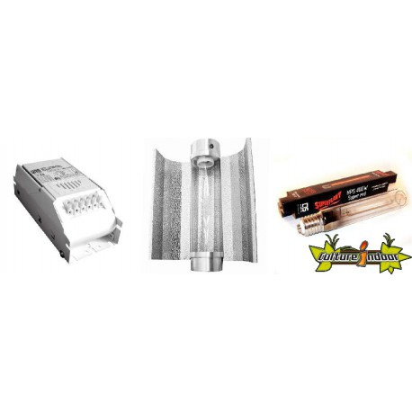 KIT Lampe HPS ECLAIRAGE MAGNETIC 400w ETI 20