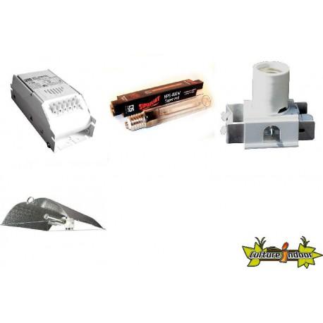 KIT Lampe HPS ECLAIRAGE MAGNETIC 400w ETI 21