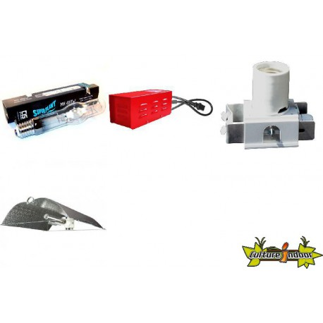 KIT lampe mh ECLAIRAGE MAGNETIC 400w CLASSE 2 - 12