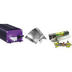 KIT ECLAIRAGE ELECTRONIC 400w LUMATEK 1ballast-ampoule-reflecteur