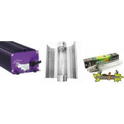 KIT ECLAIRAGE ELECTRONIC 400w LUMATEK 2-ballast-ampoule-reflecteur