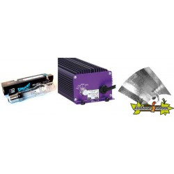 KIT ECLAIRAGE ELECTRONIC 400w LUMATEK 10-ballast-ampoule-reflecteur