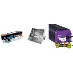 KIT ECLAIRAGE ELECTRONIC 400w LUMATEK 16 ballast-ampoule-reflecteur