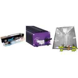 KIT ECLAIRAGE ELECTRONIC 400w LUMATEK 17 ballast-ampoule-reflecteur
