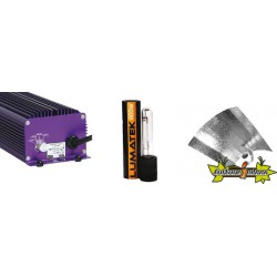 KIT ECLAIRAGE ELECTRONIC 400w LUMATEK 19-ballast-ampoule-reflecteur