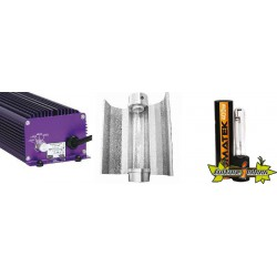 KIT ECLAIRAGE ELECTRONIC 400w LUMATEK 20-ballast-ampoule-reflecteur