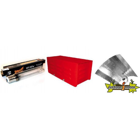 KIT ECLAIRAGE MAGNETIC 600w RED LIGHT 14