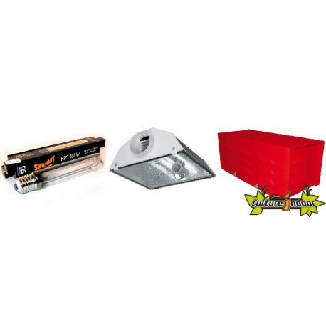 KIT ECLAIRAGE MAGNETIC 600w RED LIGHT 19