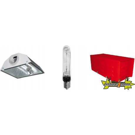 KIT ECLAIRAGE MAGNETIC 600w RED LIGHT 45