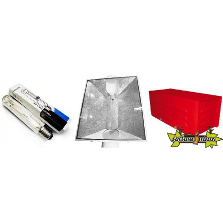 KIT ECLAIRAGE MAGNETIC 600w RED LIGHT 89
