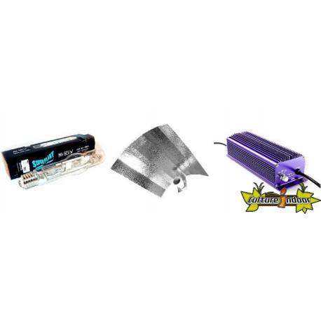 KIT ECLAIRAGE ELECTRONIC 600w LUMATEK 14-ballast-reflecteur-ampoule