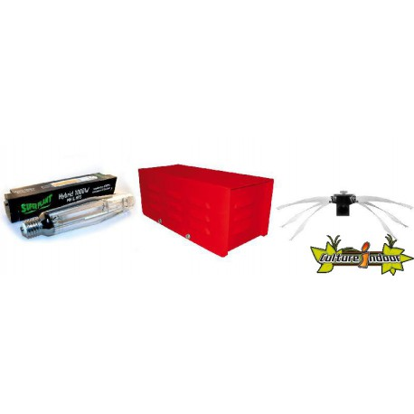 KIT ECLAIRAGE MAGNETIC 1000w RED LIGHT 4-ballast-reflecteur-ampoule