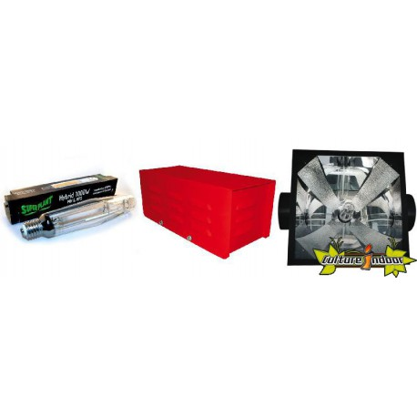 KIT ECLAIRAGE MAGNETIC 1000 RED LIGHT 12