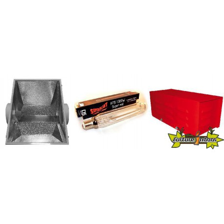 KIT ECLAIRAGE MAGNETIC 1000 RED LIGHT 21