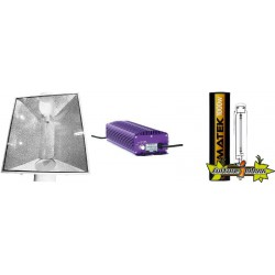 KIT ECLAIRAGE ELECTRONIC 1000w RED LUMATEK 24-ballast-reflecteur-ampoule