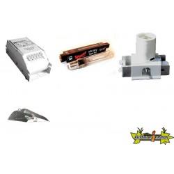 KIT ECLAIRAGE MAGNETIC 400w ETI 27-ballast-reflecteur-ampoule