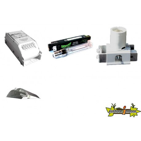 KIT ECLAIRAGE MAGNETIC 400w ETI 36-ballast-reflecteur-ampoule