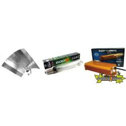 KIT ECLAIRAGE ELECTRONIC 600w SUPERLUMENS 1-ballast-reflecteur-ampoule