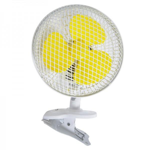 Ventilateur à clips OSCILLANT 18CM 20W - AIRONTEK
