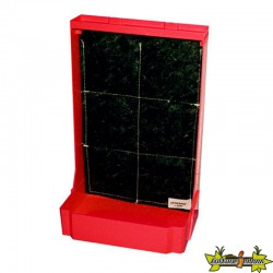 MINI MURS VEGETAL EDN H 44 X 28 L ROUGE