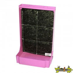MINI MURS VEGETAL EDN H 44 X 28 L ROSE