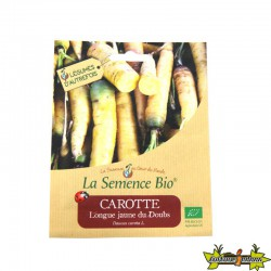 GRAINES BIO - CAROTTE LONGUE JAUNE DU DOUBS (1000GN)