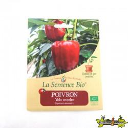 La Semence Bio - Poivron yolo wonder