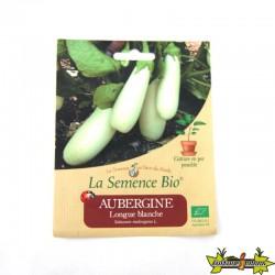 La Semence Bio - Aubergine longue blanche
