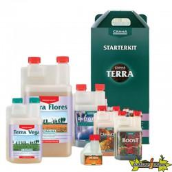 CANNA Pack engrais TERRA STARTERKIT complet pour cultiver en terre