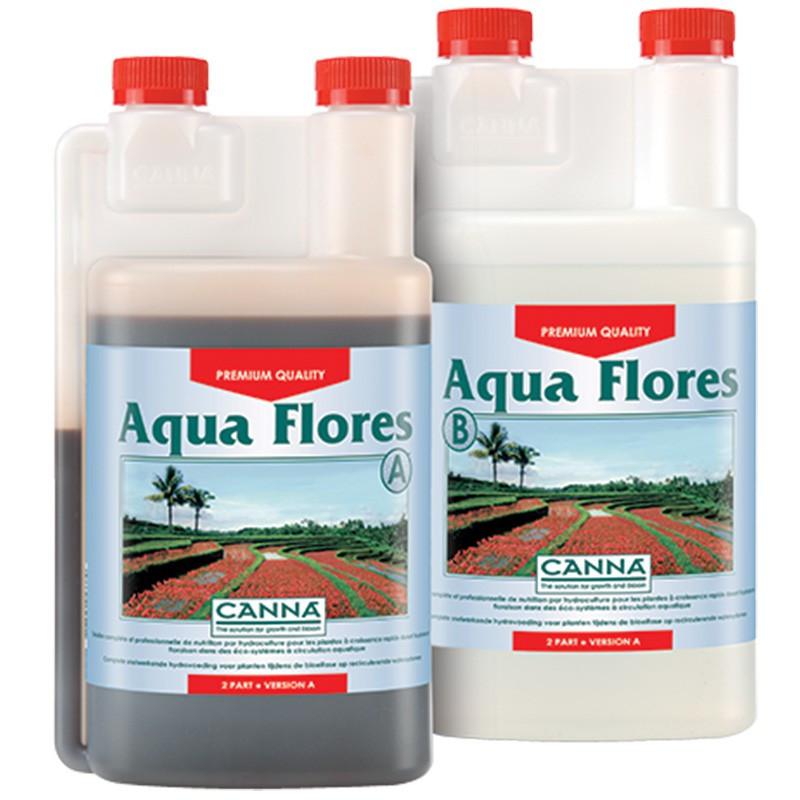Canna aqua flores 2x1ltr , engrais de floraison , système hydroponique