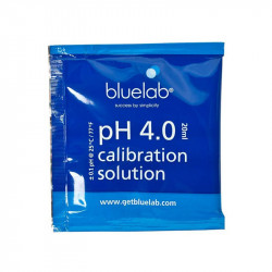 Bluelab - buffer ph 4 le sachet de 20ml , solution de calibration
