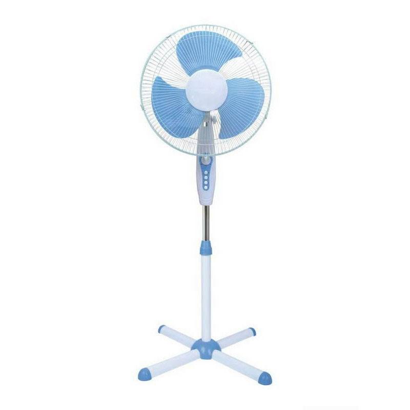 Ventilateur sur pied oscillant 40cm BLT 3 vitesses 40W