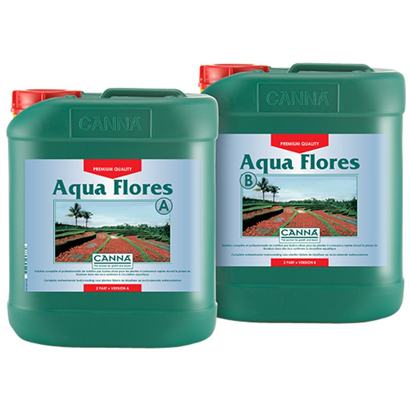 canna aqua flores 2x5l engrais de floraison syst me hydroponique canna 54 50 culture indoor. Black Bedroom Furniture Sets. Home Design Ideas