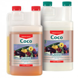 CANNA Coco A et B 2 x 1L , engrais de croissance et floraison bi composants