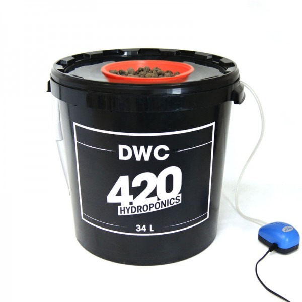 420 HYDROPONICS - DWC 34 L , systeme de culture hydroponique , aéroponique