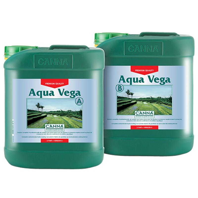 Canna aqua vega 2x5L , engrais de croissance , système hydroponique