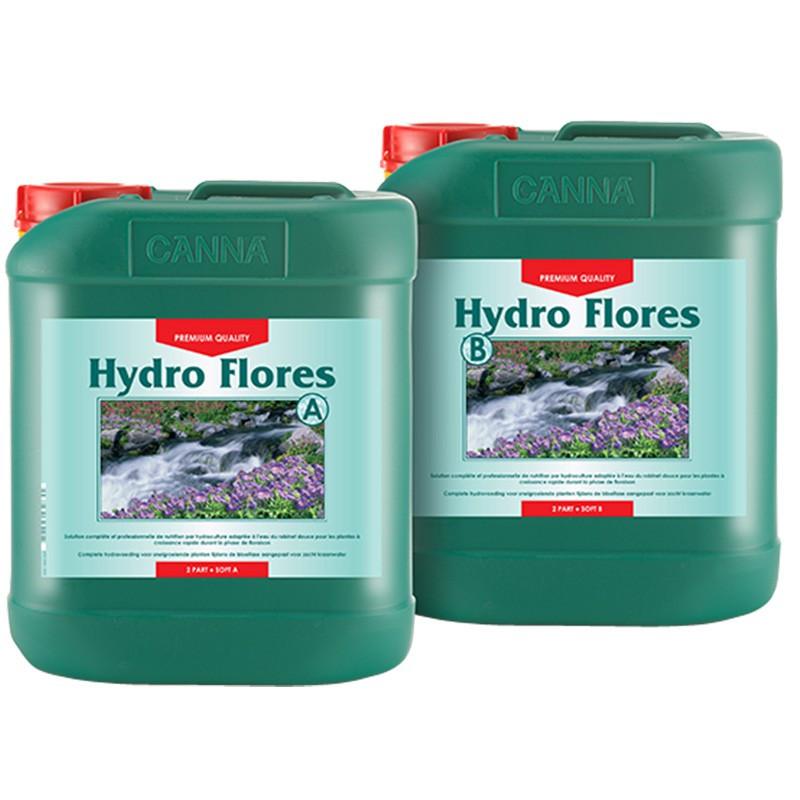 Canna HYDRO flores 2x5L , engrais de floraison hydroponie