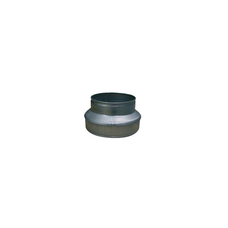 Réducteur de gaine 150-100mn , conduit de ventilation