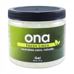Destructeur d'odeur ONA Gel 856g Fresh Linen