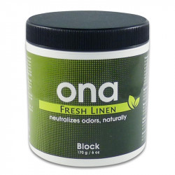 Destructeur d'odeur ONA Fresh Linen Block 170 g